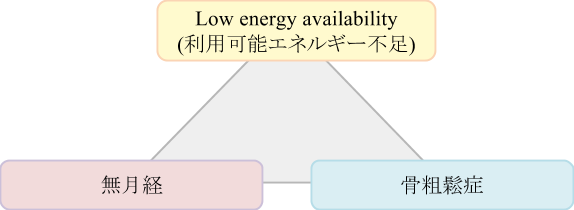 low energy availability(利用可能エネルギー不足)